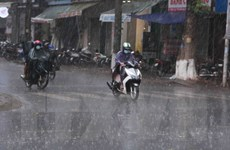 Không khí lạnh ảnh hưởng, Bắc bộ, Bắc Trung bộ có mưa rào