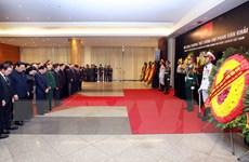 [Photo] Lễ truy điệu nguyên Thủ tướng Phan Văn Khải tại Hà Nội