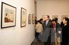 Giới thiệu những tác phẩm đồ họa của nghệ sỹ hàng đầu Séc