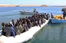 Trên 100 người di cư được giải cứu ngoài khơi Libya