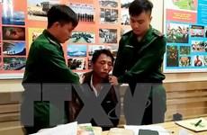 Bắt hai người Lào đem 18.000 viên ma túy, 2 bánh heroin vào Sơn La