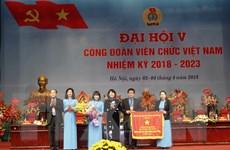 [Photo] Khai mạc Đại hội đại biểu Công đoàn Viên chức lần thứ V
