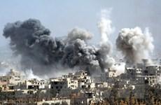 Mỹ bác bỏ tin quân đội nước này tấn công sân bay ở Syria