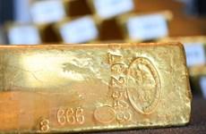 Giá vàng thị trường châu Á chạm mức thấp nhất gần 2 tuần qua
