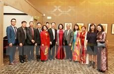Phó Chủ tịch nước gặp gỡ đại diện kiều bào và một số công ty Australia