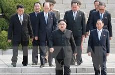 Kết thúc phiên họp đầu tiên cuộc gặp thượng đỉnh liên Triều