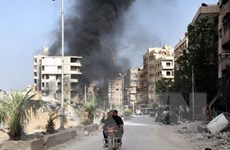 """Nga nhấn mạnh cuộc tấn công vào Syria là """"bất hợp pháp"""""""