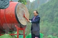 Thủ tướng đánh trống khai mạc Lễ hội Tràng An năm 2018