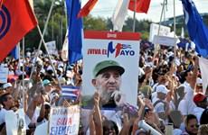 Người dân Cuba cam kết trung thành với Cách mạng, thế hệ lãnh đạo mới