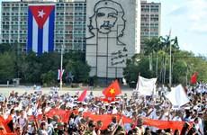 [Photo] Cuba tuần hành kỷ niệm Ngày Quốc tế lao động