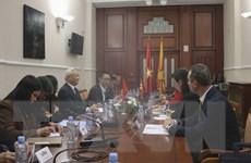 Trang mới trong hợp tác giữa Quốc hội Việt Nam và Macedonia