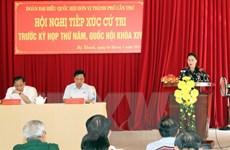 Cần Thơ: Chủ tịch Quốc hội tiếp xúc cử tri huyện Phong Điền