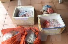 Quảng Ninh liên tiếp thu giữ, tiêu hủy thực phẩm nhập lậu