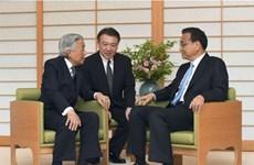 Thủ tướng Trung Quốc Lý Khắc Cường hội kiến Nhật hoàng Akihito