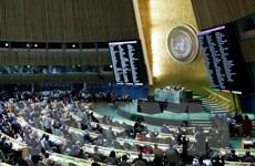 Thông qua nghị quyết tiến tới công ước môi trường toàn cầu
