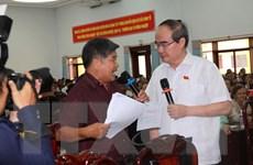 Bí thư Thành ủy TP.HCM tiếp xúc cử tri huyện Bình Chánh
