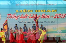 600 nghệ sỹ tham gia biểu diễn khai mạc Lễ hội Làng Sen 2018