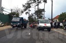 Đà Lạt: Xe máy lấn đường tông trực diện xe tải, 1 người chết tại chỗ