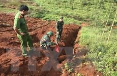 Đắk Nông hủy nổ an toàn ba quả bom trọng lượng hơn 200kg