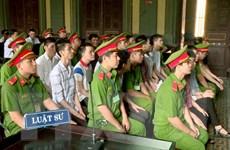 Tuyên y án sơ thẩm đối với 14 bị cáo đặt bom sân bay Tân Sơn Nhất