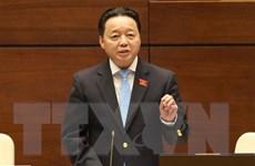 Đại biểu hài lòng phần trả lời chất vấn của Bộ trưởng Trần Hồng Hà