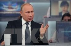 Đối thoại với người dân: Tổng thống Nga trực diện trả lời nhiều vấn đề