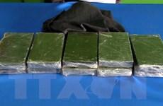 Công an Lào Cai bắt 2 đối tượng vận chuyển trái phép 23 bánh heroin