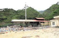 Lò đốt trị giá 50 tỷ đồng đã xây xong... rác thải vẫn nằm chờ
