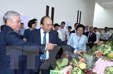 Hình ảnh Thủ tướng dự Hội nghị xúc tiến đầu tư tỉnh Sóc Trăng năm 2018