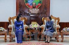 Tiếp tục hoạt động của Phó Chủ tịch nước Đặng Thị Ngọc Thịnh tại Lào