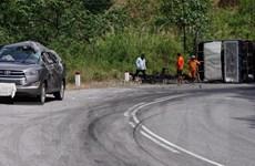 Hai ôtô va chạm trên đèo Ngoạn Mục, 7 người may mắn thoát chết