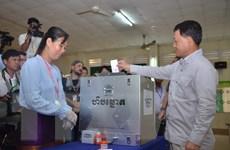 Bầu cử Quốc hội tại Campuchia thu hút lượng lớn quan sát viên