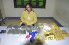 Liên tiếp bắt giữ các vụ vận chuyển trái phép số lượng lớn ma túy