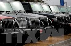 Các hãng chế tạo ôtô tranh thủ xuất khẩu sang thị trường Mỹ