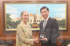 Vương quốc Anh muốn đẩy mạnh đầu tư vào Thành phố Hồ Chí Minh