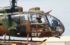 Trực thăng huấn luyện của quân đội Pháp rơi ở Cote d'Ivoire