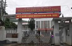 Chấm lại các bài thi THPT tại Sơn La ngay trong đêm 19/7