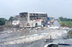 Vụ lật xe giường nằm tại Bình Thuận: Hỗ trợ gia đình có người tử vong