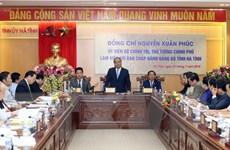 Thủ tướng: Hà Tĩnh cần phấn đấu sớm tự chủ ngân sách
