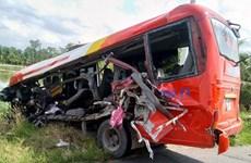 Điều tra vụ tai nạn làm 3 người chết tại đường tránh thị xã Cai Lậy
