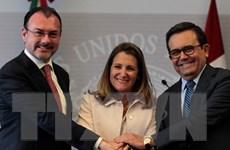 Mexico, Mỹ và Canada nối lại đàm phán Hiệp định NAFTA