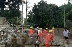 Yên Bái đảm bảo sớm cấp điện trở lại cho người dân vùng lũ