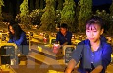 Xúc động lễ dâng hương tưởng niệm các Anh hùng liệt sỹ tại Lào