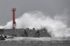 Bão Jongdari đổ bộ Nhật Bản, mưa lớn sẽ tiếp tục trút xuống