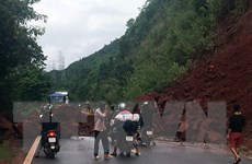 Mưa to tại Sơn La, Hòa Bình, Phú Thọ, cảnh báo nguy cơ lũ quét