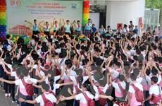 Khai mạc Trại hè thiếu nhi 3 nước Việt Nam, Lào, Campuchia