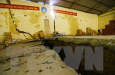 Hòa Bình: Tiếp tục xảy ra hiện tượng sạt lở, sụt lún nhà dân
