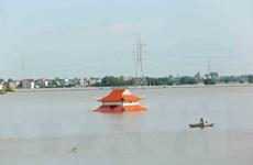 Hà Nội: Ba vùng dân cư huyện Quốc Oai bị cô lập do ngập nước