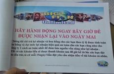 Tố giác hành vi lập trang web Big Fish Game Việt Nam để lừa đảo