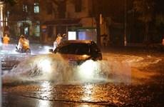 Chiều tối và đêm 3/8, trên biển và đất liền đều có mưa dông